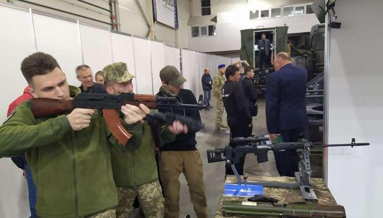 Прийняли участь у виставці «Зброя та безпека 2018»