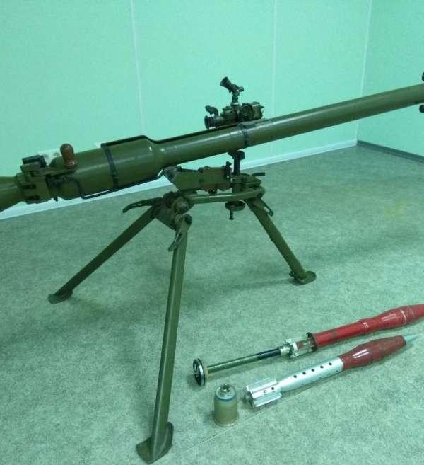 Тренажер Т4: лазерний макет СПГ-9