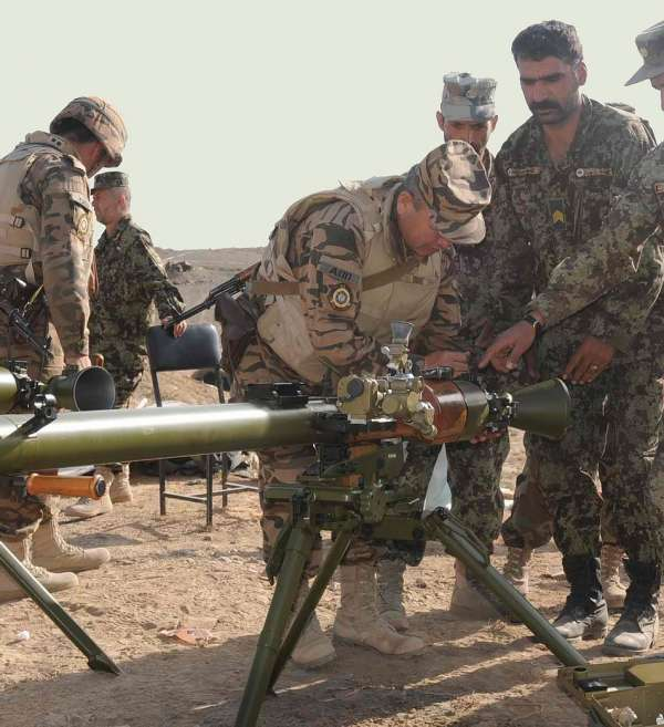 Станковий протитанковий гранатомет СПГ-9